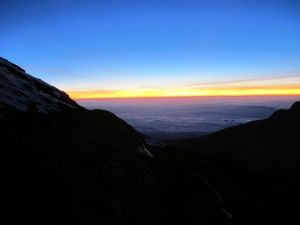 Kili_sunrise